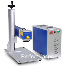 50Watt High Power Animal Ear Tag Laser Marking Machine / Fiber Laser Marker