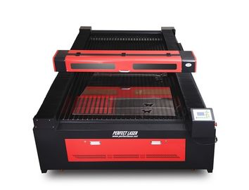 Flat Bed CO2 Laser Engraving Machine For Wood , Plastic , PVC Board