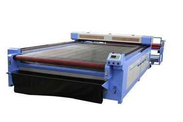 Automatical Roll CO2 Laser Cutter With Liquid Crystal Display Control System