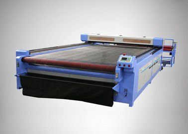 Fabric Garments CO2 Laser Cutter With Automatic Roll-winding System