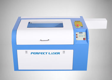 40W CO2 Laser Engraving Machine , Mini Laser Engraver For Plastic Rubber Paper