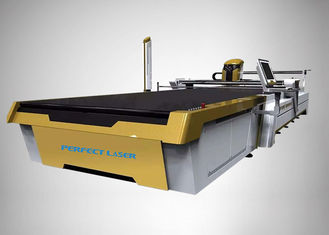 Customized CO2 Laser Cutter Automatic Fabric Cutting 3300*1700 With Vacuum Table