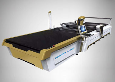 Automatic CO2 Laser Cutting Machine CAD/CAM Cutting System For Cotton Linen Silk